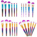 New Arrival 5/6Pcs Makeup Brushes Fantasy Set Foundation Powder Eyeshadow Kits Gradient color makeup brush set