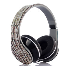 Folding Wired Style Camouflage 3.5mm Audio Earphones Stereo Headset Cable for Android Smartphone, PC, Mp3/mp4, Iphone