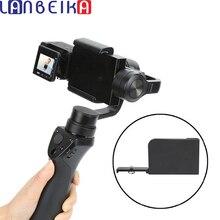 Lanbeika cardan do telefone móvel interruptor de montagem placa adaptador compatível para sony rx0 ii handheld acessórios da câmera cardan do telefone