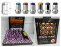 33 MM 1 Unidades M12x1.5 Tuercas de las Ruedas de D1 Spec Spec LOCKING Nuts Y Manchas (6 Colores Disponibles)