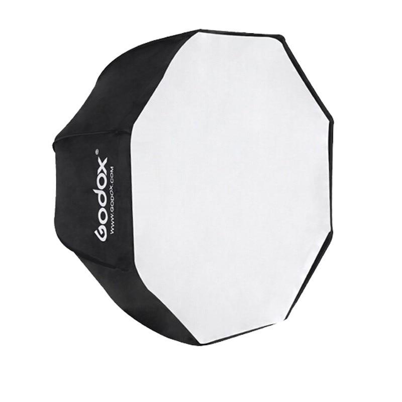 ФОТО Original Godox 120cm / 47.2in Portable Octagon Photo Studio Softbox Umbrella Brolly Reflector for Speedlight