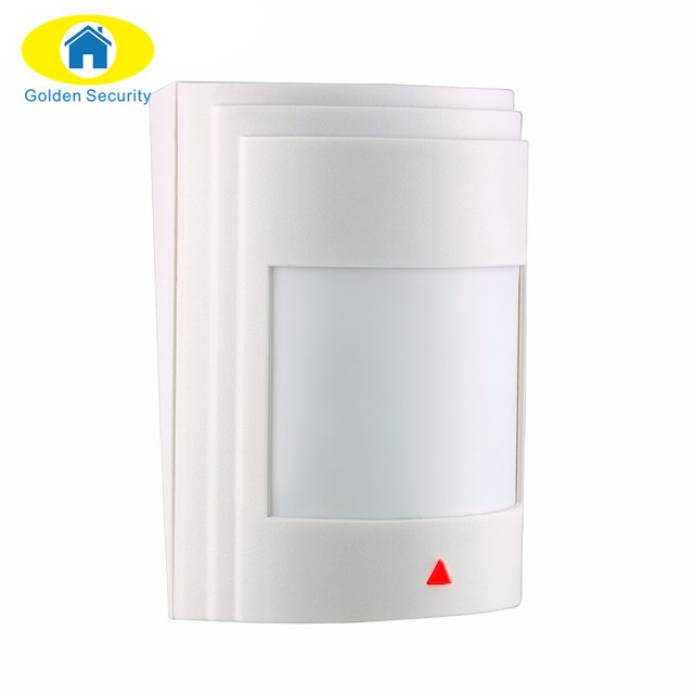 Golden Security 433Mhz Wired PIR Infrared Detector Motion Sensor For GSM/PSTN Alarm System Suitable for G19 G90B Q2 alarm system