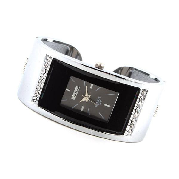 Aliexpress explosion H Corée Du Sud De Mode Carré couleur Diamant Dames Montre Bracelet Montre