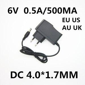 1pcs 6V 0.5A 500MA Power Supply Adapter Charger Transformer For OMRON I-C10 M4-I M2 M3 M5-I M7 M10 M6 M6W Blood Pressure Monitor(China)