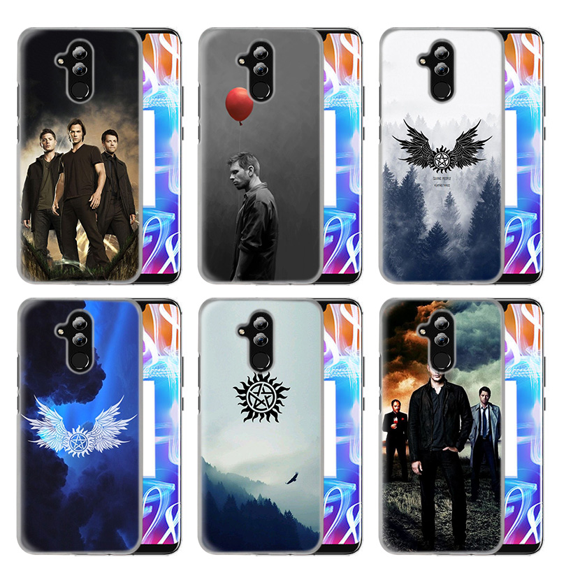 Case Cover For Huawei Honor P20 lite Mate 20 10 P30 P10 P9 P8 8X 9 Lite Pro P Smart Plus 2017 2019 Nova 3i Supernatural Fundas in Half wrapped Cases from Cellphones Telecommunications