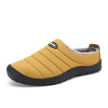 Natal Sapatos de Inverno Morno Mulher Sapatos Indoor Chinelos de Pelúcia Chinelos Em Casa As Mulheres Warterproof Chinelo Ao Ar Livre Zapatos De Mujer