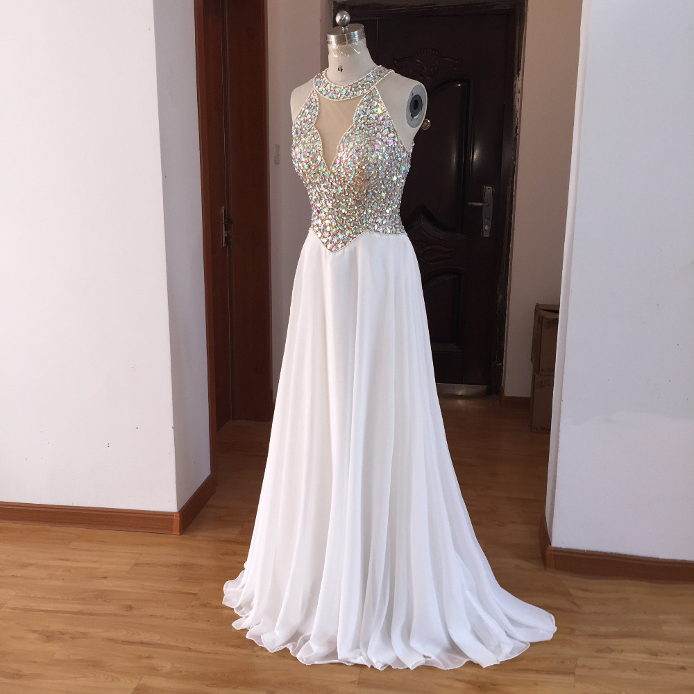 White Evening Dresses 2019 NEW Charming Summer Hot Selling