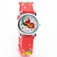 Русалочка Популярные 3D часы детские часы рождественские подарки Relogios feminino watchwrist