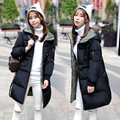 Hot Sale Winter Womens Down Thickening Jacket And Coat Female High Quality Parka Solid Color Plus Size Warm Coat Outwear MZ1076