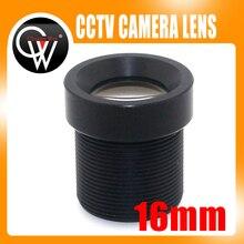 """5 pz/lotto 16mm obiettivo della Fotocamera di Bordo Lens1/3 """"e 1/4"""" F2.0 Lente Per CCTV CCD CMOS telecamera di sicurezza"""