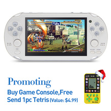 8G Handheld Game Console 4.3 Inch 32Bit Mp4 Player Video Game Console Retro Games Support Ebook Camera Recording Gaming Consoles