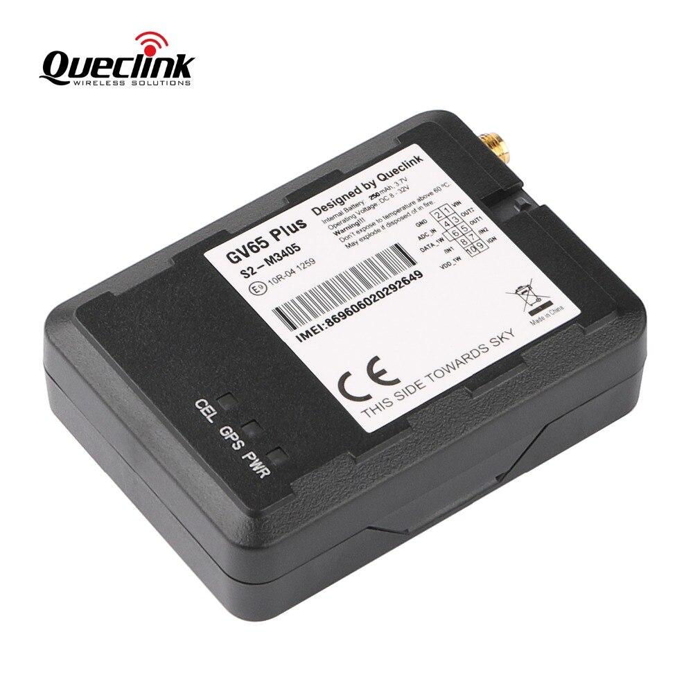 Queclink GV65 Plus Car GPS Tracker GLONASS Locator Localizador Rastreador Mini Veicular GSM Device 8V-32V DC