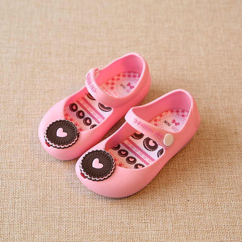 c717dee89b41f 2017 New Mini sed Kids Sandals Baby Girls Boys Children Summer Cute Rubber Beach  Shoes Infantil Sandalia