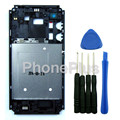 Middle Plate Frame Housing Front Faceplate Bezel Frame +Tools Repair Part For Sony Xperia E3 D2203 D2206 D2243 D2202