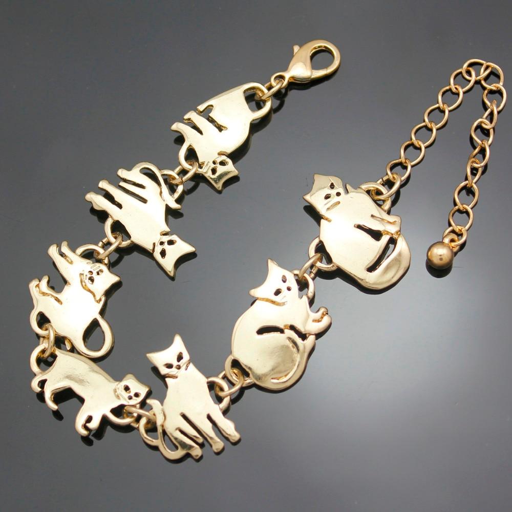 Kesheng 10pcs Breloques Emaill/ées Cheval Chat Bijoux Accessoire Chats