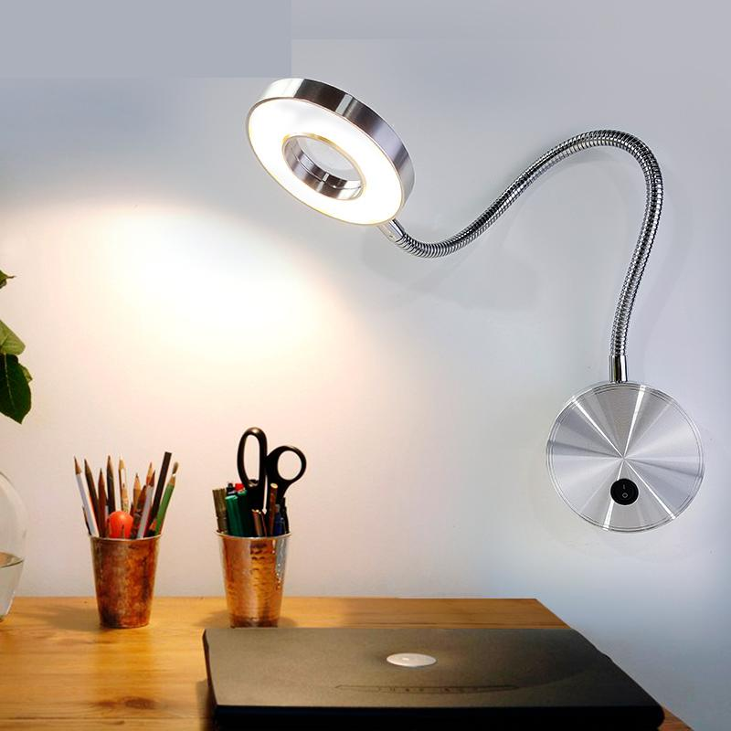 LED wall mounted hose spotlights elbow wall photo lamp ...