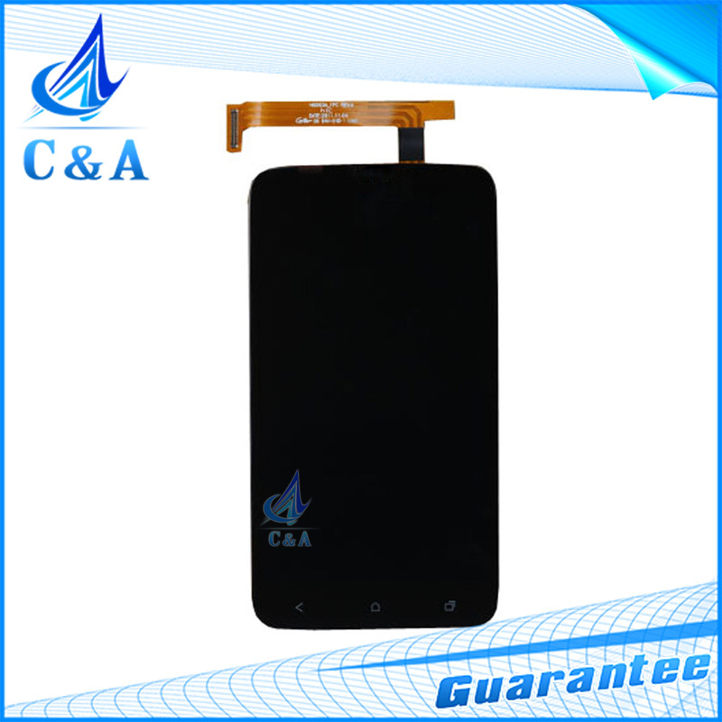 10 pcs DHL/EMS post tested replacement repair part for HTC One X G23 S720e lcd with touch screen digitizer