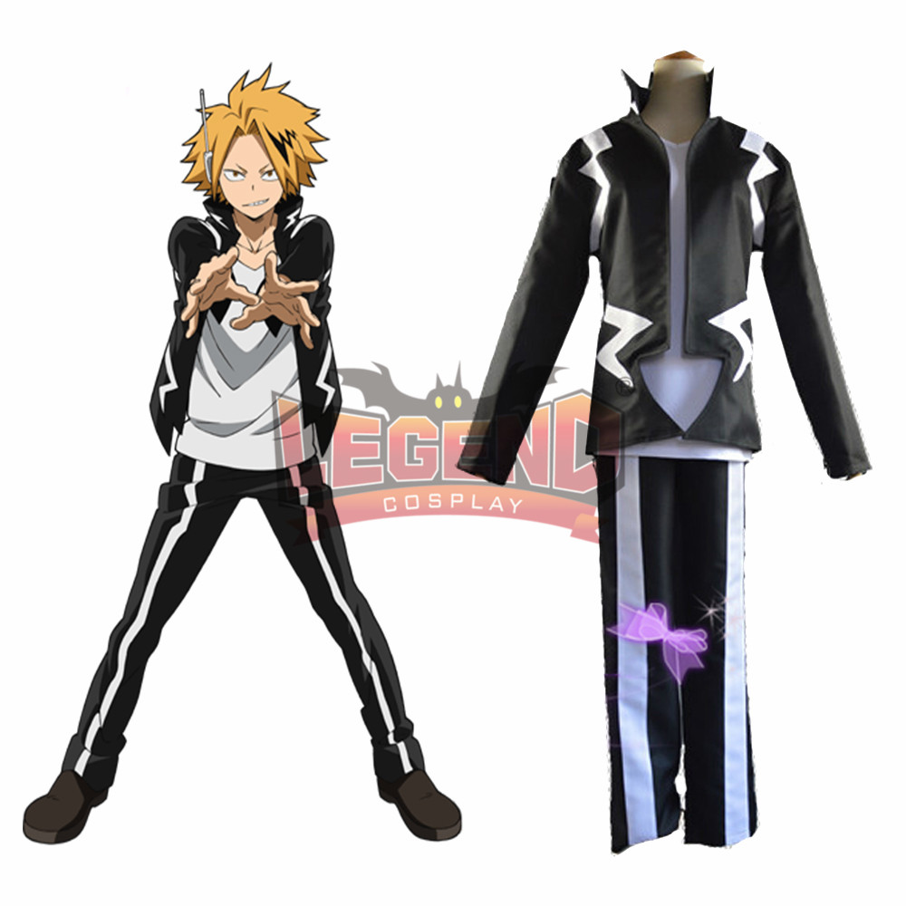 Us 45 0 Anime My Hero Academia Boku No Hero Academia Denki Kaminari Cosplay Costume Custom Made In Anime Costumes From Novelty Special Use On