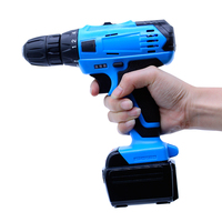 21V Tow Speed Selection Cordless Electric Drill 1pc Rechargeable Battery Electric Screwdriver Power Tool With High