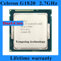 Lifetime warranty Celeron G1820 2.7GHz 2M Dual Core desktop processors CPU 1820 Socket LGA 1150 pin Computer
