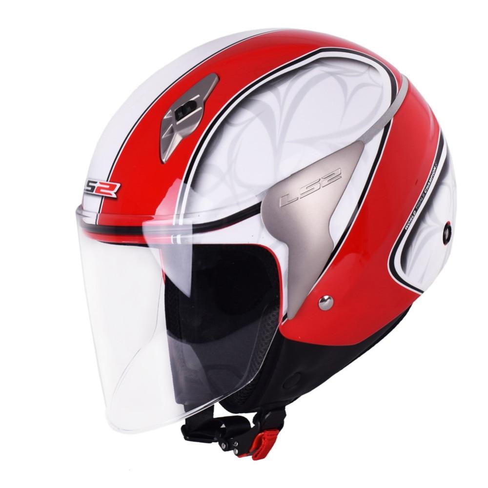 LS2 オートバイヘルメット 3/4 オープンフェイスカスモト Capacetes デ Motociclista スクータージェットヘルメット Casque モト Helm Kask  グループ上の 自動車 &バイク からの ヘルメット の中 2