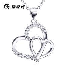 2463594cd54d Los Estados Unidos Otoño Invierno Ebay vende caliente estilo COLLAR COLGANTE  S925 amor plata pura plata femenina Fuente