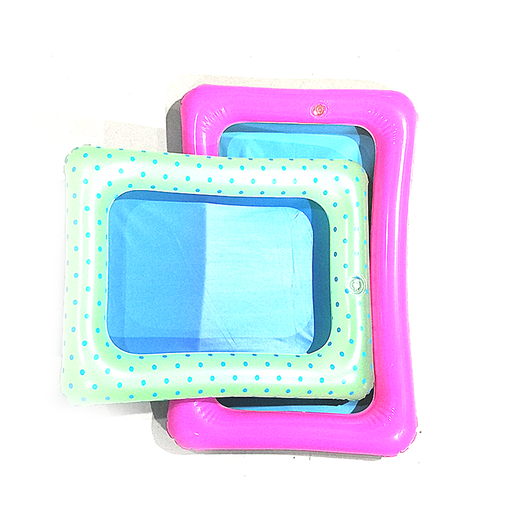 Plastic Indoor Magie Spelen Zand Kinderen Speelgoed Mars Ruimte Opblaasbare Zand Lade Accessoires Mobiele Tafel Kleur Willekeurig 35*18.5 Cm