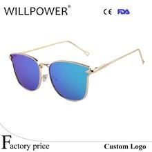 Lo nuevo de Aleación Templo gafas de Sol de Las Mujeres Gafas de Sol de Diseñador de la Marca Original de Calidad Superior Gafas De Sol UV400 Oculos
