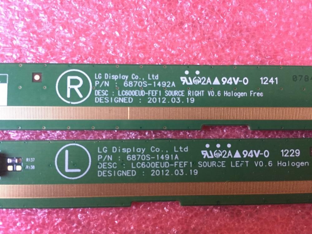 6870S-1491A 6870S-1492A LCD Panel PCB Parts A Pair 6870s 0535a 6870s 0534a lcd panel pcb part a pair