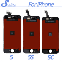 Grade AAA For LCD IPhone 5S 5C 5 SE LCD Touch Screen Replacement Display Digitizer Front