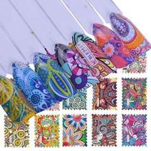 44 desenhos conjuntos de adesivos para unhas retro estampa desenhos para decorações de cobertura completa unhas decalques da arte envolve marca dtrágua tatuagem tr168