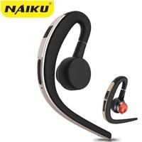 NAIKU Bluetooth Earphone Sport Bluetooth Headset Wireless Music Earbuds Handsfree With Microphone Headphone For Phone Iphone