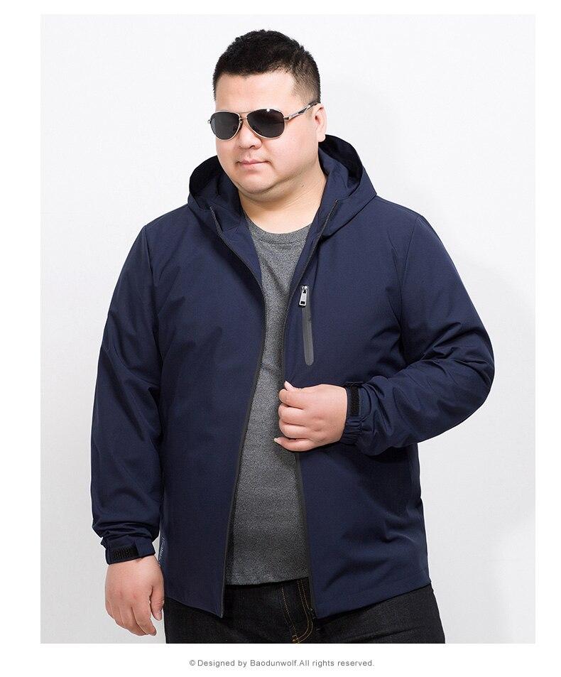 Masculina Outwear Marca Ocasional Chaqueta 10xl Superior Capucha Tamaño Primavera Con Ropa 8xl 2 Para Nueva Moda 6xl Más Capa 1 Hombres Calidad Los 4SnZUUq