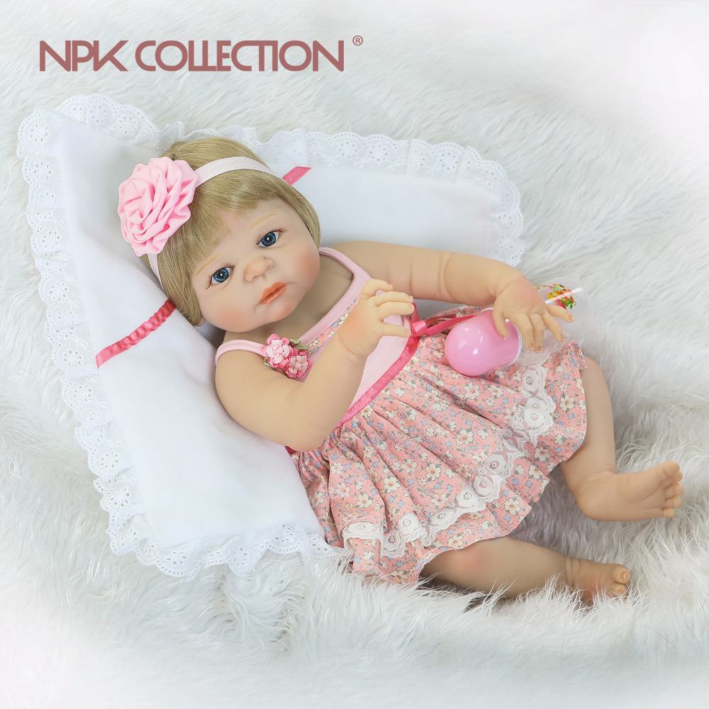 New arrival NPK full body silicoen bebes reborn girl dolls soft silicone vinyl real gentle touch bebes new born real reborn babyNew arrival NPK full body silicoen bebes reborn girl dolls soft silicone vinyl real gentle touch bebes new born real reborn baby