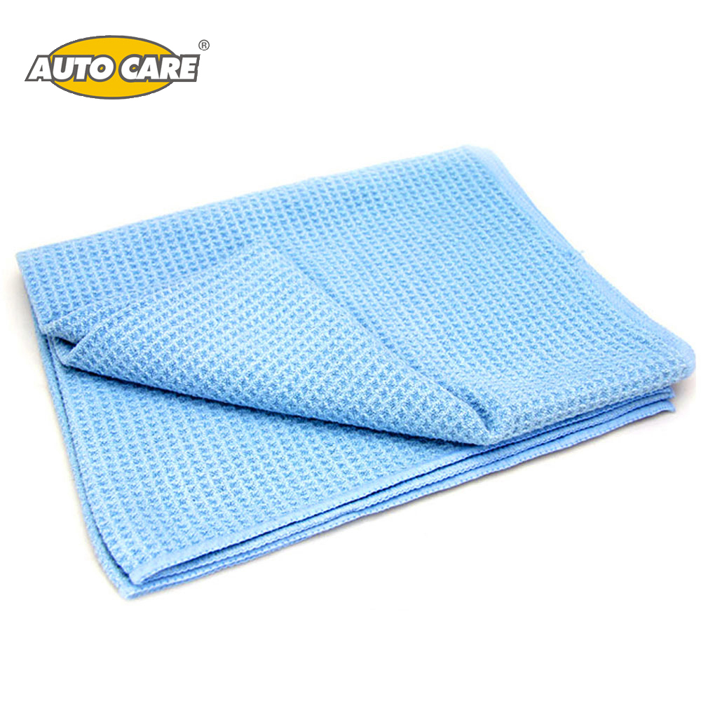"Auto Care The Best Water Magnet Microfiber Drying Towel with Waffle Weave Design for Car, Bath, Kitchen & Dogs 23.6""X 31.5"" Blue"