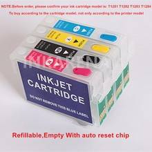 Refillable Ink Cartridge For Epson S22 SX125 SX130 SX235W SX420W SX440W SX430W SX425W SX435W SX438 SX445W BX305F SX230