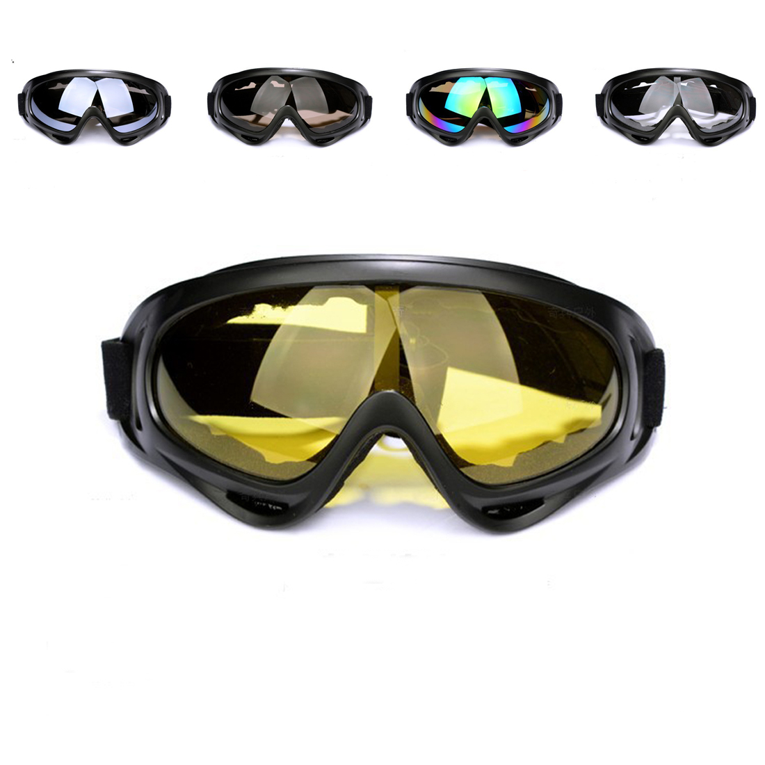 X400 Classic Style Tactical Soft Bullet Dart Explosion-proof Shock-resistant Protective Goggles For Nerf
