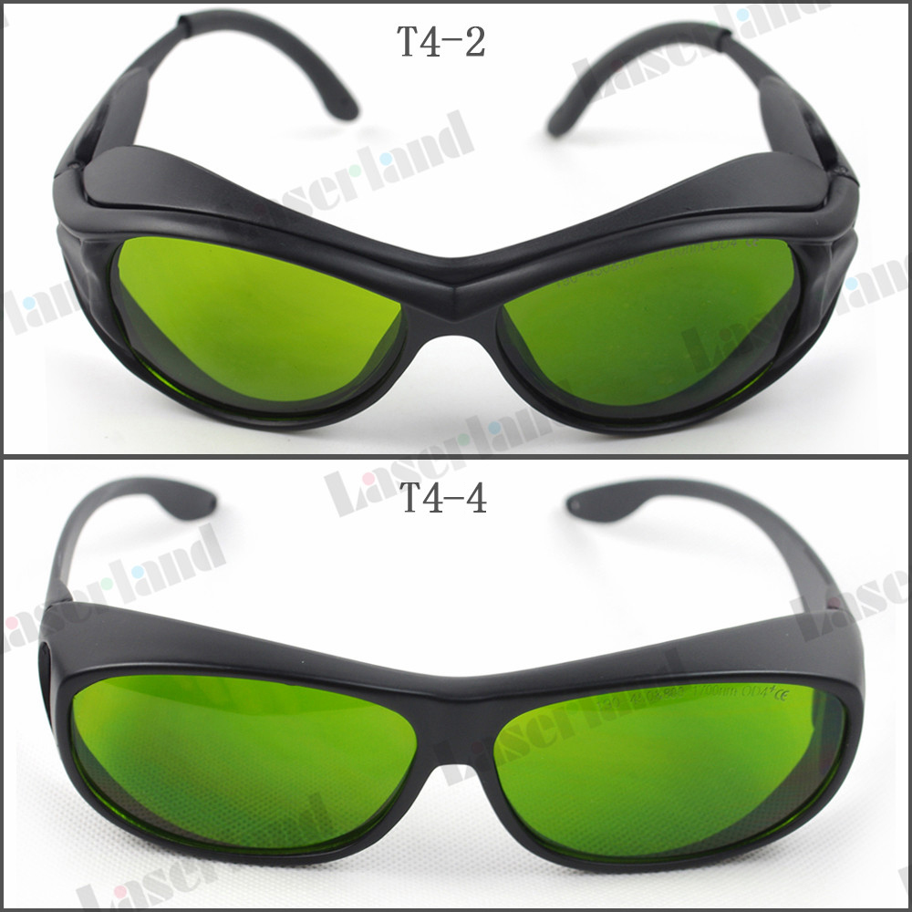 SK-4 190-450nm&800-1700nm OD4+ Blue+IR Laser Protective Goggles Safety Glasses CE bdjk yh 5 laser safety goggles 190 450nm
