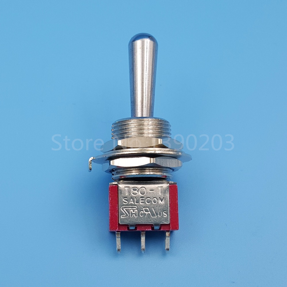 SH T8014 Z1 12mm 3Pin 3Position ON OFF ON Maintained SPDT Mini ...