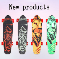 Four Wheel Electric Scooters Small Fish Electric Skateboard Wireless Remote Controller Electric Hoverboard For Adult Kids