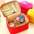 Cosmetic bag 2016 new large capacity make up organizer bag Korean women handbag organizer portable storage toiletry travel bag