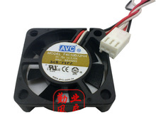 Free shipping Wholesale AVC F4010B12HH DC 12V 0.12A server cooling fan 4010 40x40x10mm 90mm