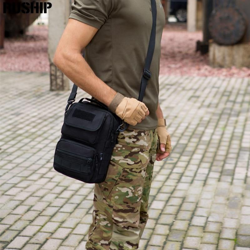Tactical Hunting Military Messenger Bag Travel Hike Handbags Nylon 1000D Waterproof Man Crossbody Shoulder Bag Outdoor Handbags snny pro multifunction mens military travel nylon shoulder messenger bag handbags briefcase