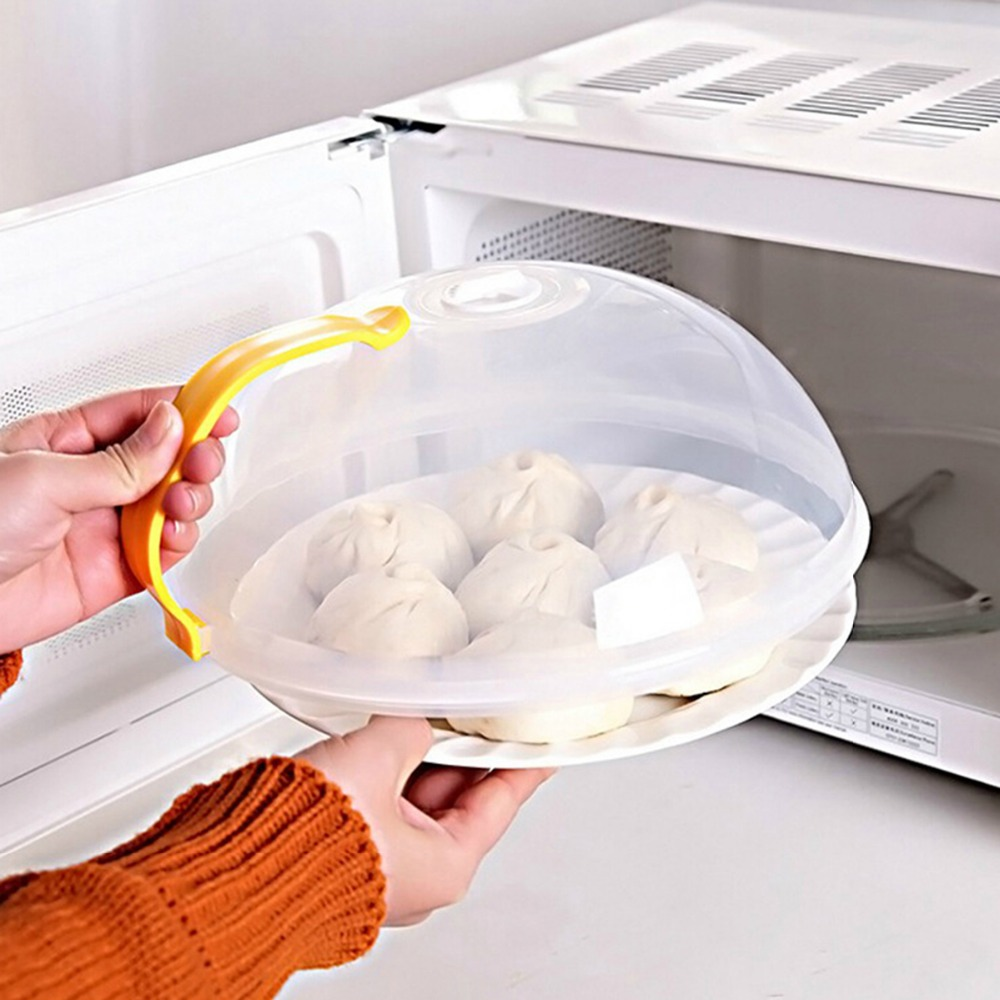 Microwave Food Cover Oven Oil Proof Cap Lid Fridge Dishes Keepfresh ...