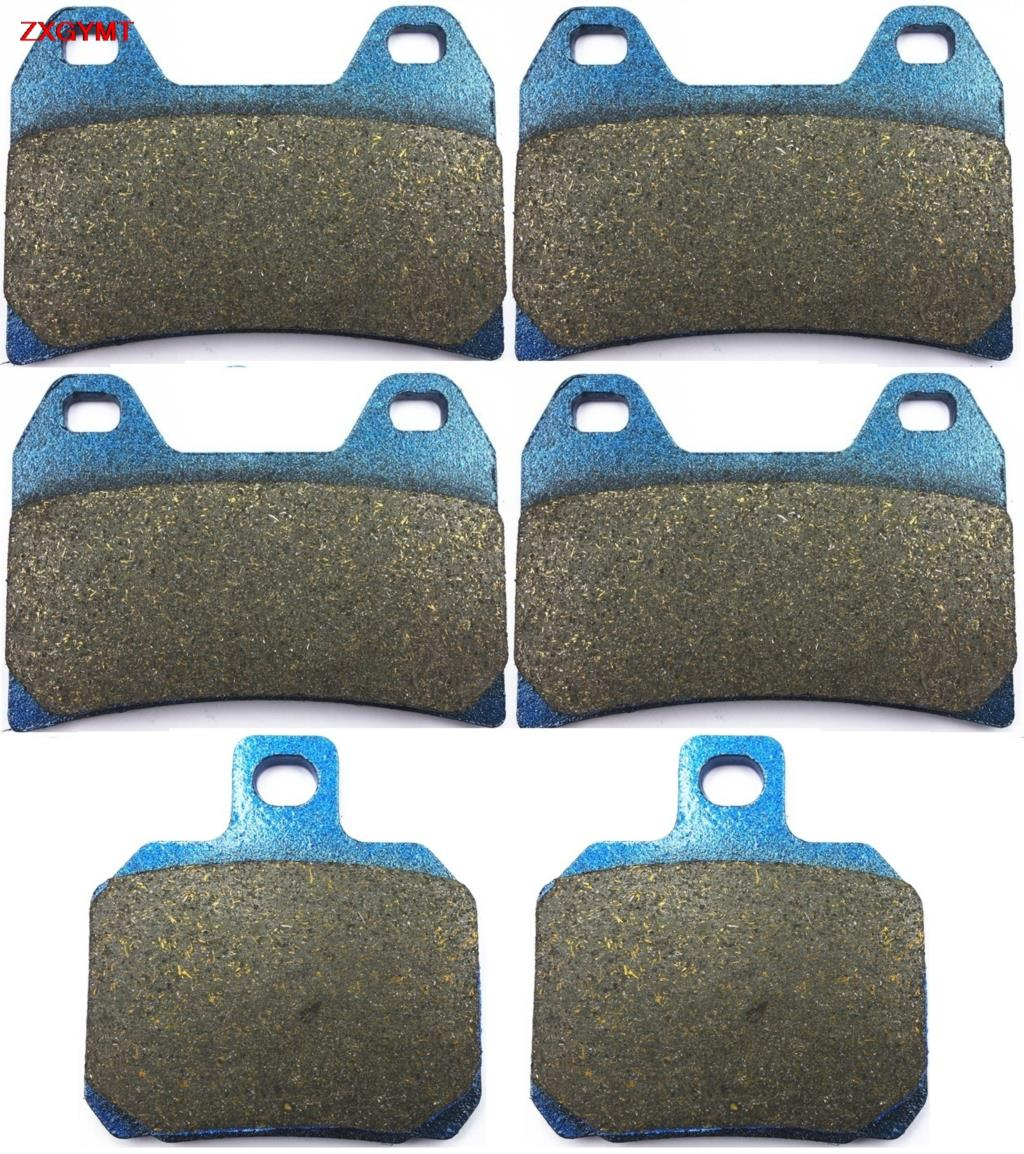 Sinter HH Brake Pad Set for <font><b>BENELLI</b></font> <font><b>TnT</b></font> 1130 TnT1130 Trek Amazonas 2007 - 2015 Front Rear <font><b>15</b></font> 07 14 13 12 11 10 09 08 image