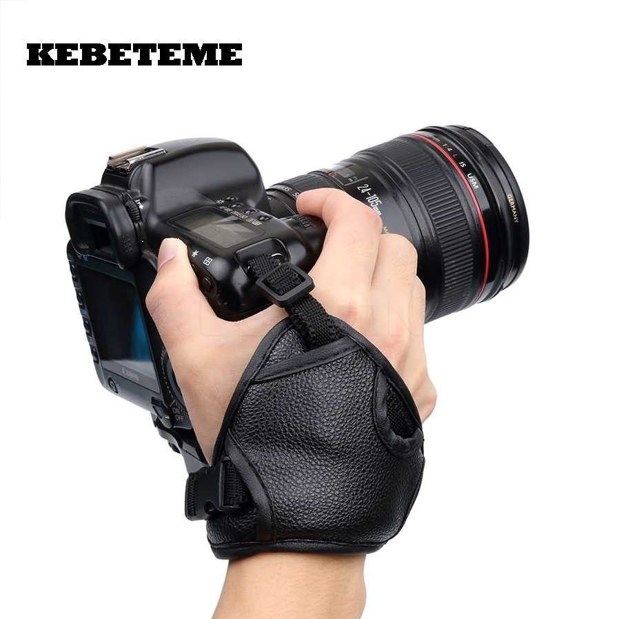 Hand Grip Soft PU Leather Wrist Strap for Nikon//Canon//Sony Camera Strap