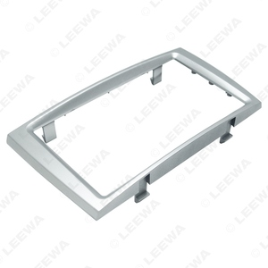 Image 3 - LEEWA Car Double Din DVD Radio Fascia Frame for PEUGEOT 308/408 Dashboard Panel Mount Installation Adapter Trim Kit #CA5191