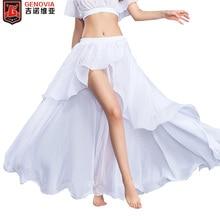 High Quality Chiffon Belly Dance Costume Skirt Women Sexy belly dance Dress 11 colors