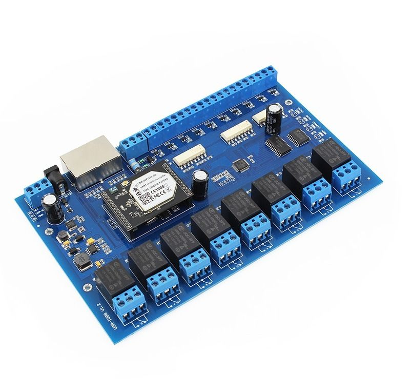ФОТО [USR-IO88] Wifi Network Relay with 8 Inputs and 8 Outputs,Remote Control Switch