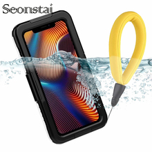 For iPhone XR XS Max Sealed Cover IP68 Waterproof Shockproof Heavy Duty Hybrid Case for iPhone XS 8 7 6 6s Plus Snowproof Coque